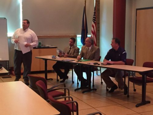 Local utilities discussion panel