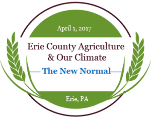 Erie County Agriculture and Our Climate logo