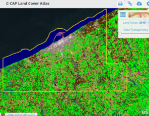 C-Cap Land Cover Atlas Erie