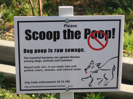 scoop the poop