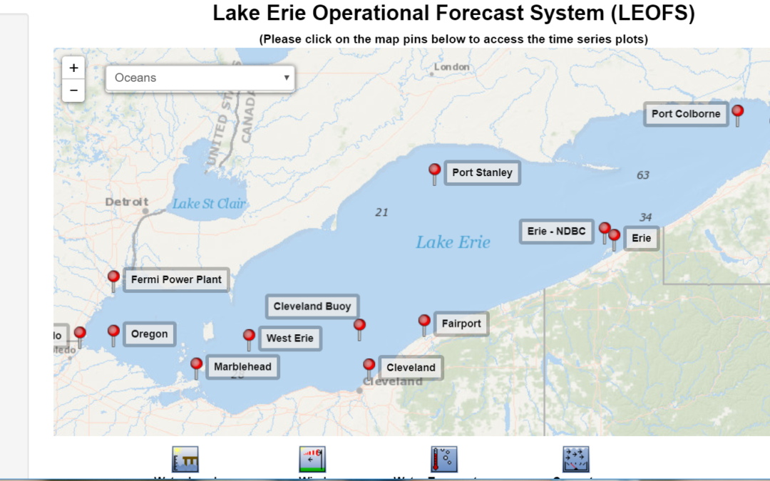 Lake Erie Operational Forecast System